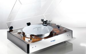 THORENS TD 550 | Macassar chrome/Makassar Chrom